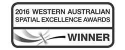 2016 WA Spatial Excellence Awards Winner