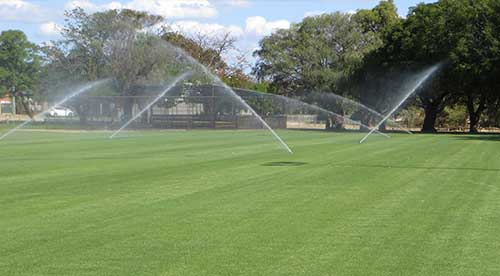 oval irrigation system