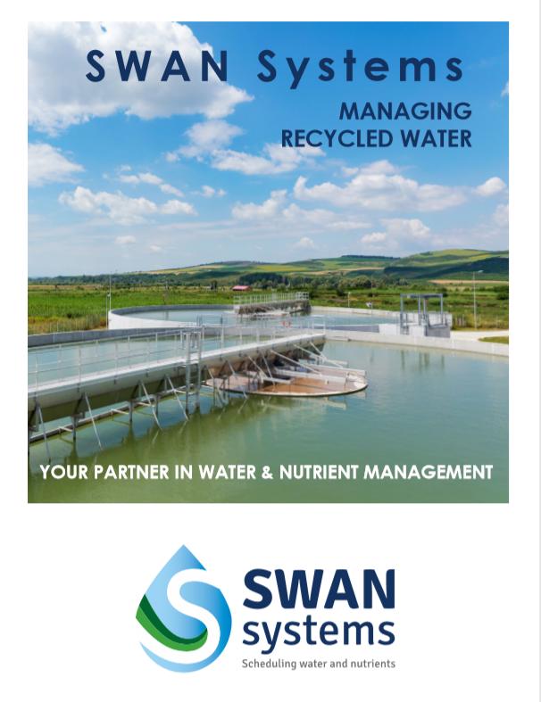 SWAN brochure recycled water